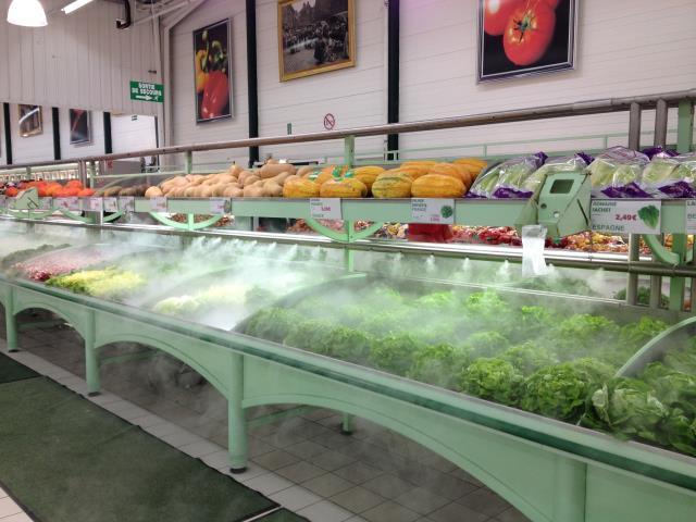 Nébulisation salade comparaison brumisation BRUMIFRAIS